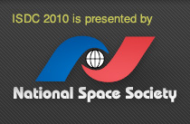 ISDC 2010 is presented by the National Space Society